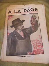 A la page N°135 Octobre 1932 Les vendanges