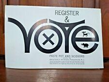 Completo 1964 registrarse y votar Clip Libro De Line Art Harry Volk Jr Studio-PPS58