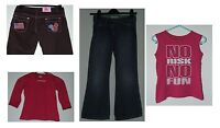 Girls Clothes Sizes 8/9 Years 10/12 Years Bootleg Jeans Straight Leg Jeans & Top