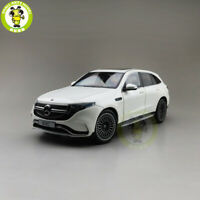 1/18 Mercedes Benz EQC Diecast Car Model Toys Boys Girls Gifts White