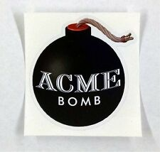 "Acme Bomb looney tunes Wile E coyote sticker decal 3""x3.2"""
