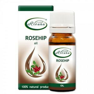 100% ESSENTIAL ROSE HIPS Carrier Oil 100% Pure - 10ml Aromatherapy & Essential Oils