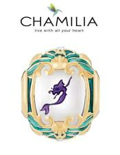 VGC CHAMILIA 925 silver Swarovski Disney LITTLE MERMAID YOUR WORLD charm bead