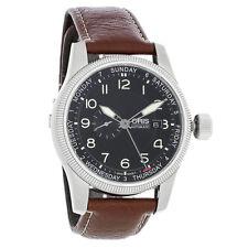 Oris Big Crown Men's Black Dial Automatic Watch 74576294064LS
