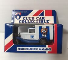 AFL NORTH MELBOURNE KANGAROOS Car Collectibles Model A Ford 1995 Matchbox NEW