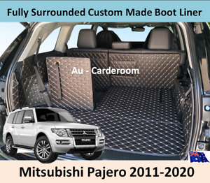 Mitsubishi Pajero 2011-2020 Custom Made Trunk Boot Mats Liner Cargo Mat Cover