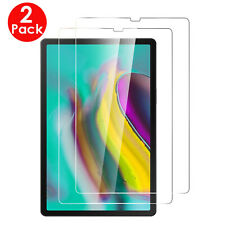 "2X Pack Samsung Galaxy Tab S5e 10.5"" T720/T725 Tempered Glass Screen Protector"