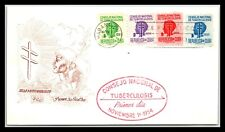 GP GOLDPATH: CARIBBEAN COUNTRY COVER 1954 FIRST DAY COVER _CV593_P01