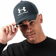 Accessories Mens Under Armour Twist Moisture Wicking Classic Fit Cap in Black