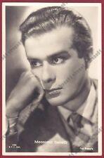 MASSIMO SERATO 06 ATTORE ACTOR ACTEUR CINEMA MOVIE - ODERZO Cartolina FOTOG 1942