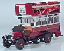 "Corgi Thornycroft Bus Grant's Morella Cherry Brandy 6"" Diecast Scale Model"