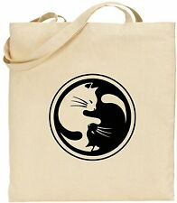 Tote Bag - Cat Yin Yang