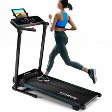 Laufband elektrisch 12 km/h LCD Display Puls Fitness Heimtrainer 120 kg klappbar