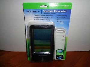AcuRite Wireless Weather Station Forecaster Indoor/Outdoor Temperature Color