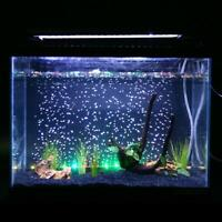 LED Aquarium Luftblase Aquarium Lichter Multi-Color-Tauchlampe 3 Größe