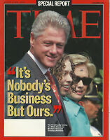 Time Magazine August 31, 1998  It's nobodys bisiness but ours  Very  Good Cond.