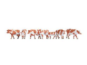Kühe braun-weiß 15726 von Noch