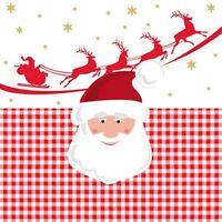 *ppd*Weihnachten*20 Servietten*Santa mit Rentierschlitten*