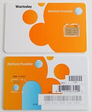AT&T FACTORY Micro 4G LTE sim card for iphone 4 / 4s samsung galaxy S 4/5 Note 4