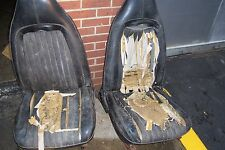 1970 - 1974 E-Body Baracuda, Challenger BUCKET SEAT CORES  with rusted tracks