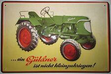 GULDNER, tracteur, tracteur, panneau métallique
