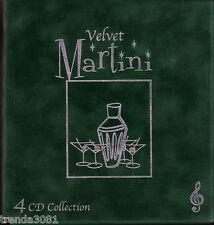 VELVET MARTINI 4CD Box Classic 50s Pop RAY CHARLES LENA HORNE BILLIE HOLIDAY
