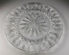 "WATERFORD CRYSTAL LISMORE ACCENT SALAD PLATE - 7 7/8"" - MINT"