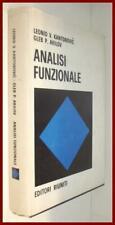 Kantorovic Akilov ANALISI FUNZIONALE libro analisi matematica livello avanzato