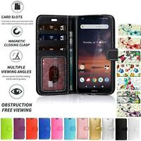 For Nokia 7.1 Stylish Cover Case Wallet Flip PU Leather Phone New