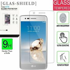 2 Pack For LG K4 2017 / Phoenix 3 / Risio 2 / Rebel 2 Tempered Glass Protector