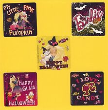 15 Barbie Halloween - Large Stickers - Party Favors - Rewards