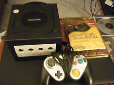 Nintendo Black GameCube Game System Dol-001 w/Controller - As Is!