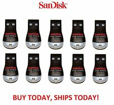 10x LOT Genuine Sandisk SDDR-121-G35 MobileMate MicroSD to USB Card Drive Reader