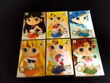 Banpresto Q Posket Petit Figure Sailor Moon Mercury Mars Jupiter Venus 6 set