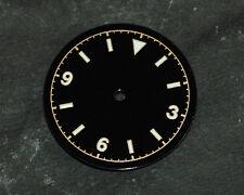 Bond Milsub Watch Gilt Dial for DG 2813 Miyota 8200  Movement 3 6 9 White Lume