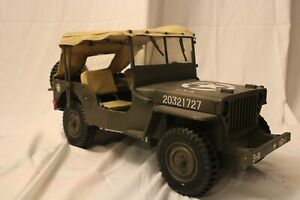 21st Century Toy 1:6 WWII US Willy's Jeep With Rag Top