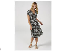 Jersey Floral Fit & Flare Dresses for Women