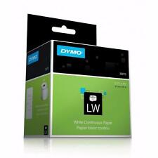 """Dymo LabelWriter 30270 White Continuous Non-Adhesive POS Paper 2-1/4"""" x 300' New"""