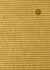 Antique Radio SPEAKER FABRIC Vintage Grill Cloth Repair - #25 - Gold Striped