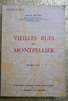 Vieilles rues de Montpellier 1964