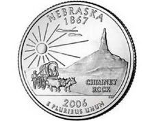 2006 - D  Nebraska    State Quarter  **BRILLIANT UNCIRCULATED**