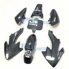 CARBON FIBER STYLE PLASTIC FOR HONDA CRF XR 50 XR50 CRF50 PIT BIKE 7 PCS I PS10