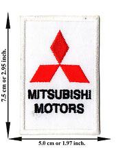 Mitsubishi Car Racing Automotive MotorSport Logo Applique Iron on Patch Sew