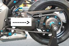 LIGHTECH Rad Abdeckung / wheel protektor Carbon Honda CB 1000 R 08-15