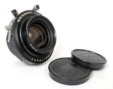 Schneider G-Claron 210mm F9 Lens in Copal #1 Shutter