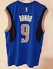 Adidas NBA Jersey Mavericks Rajon Rondo Blue sz S