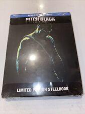 Pitch Black (Blu-Ray + Digital) Limited Edition Vin Diesel Riddick damaged