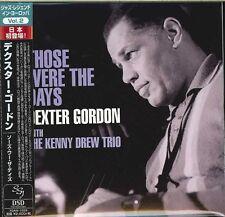DEXTER GORDON WITH KENNY DREW TRIO-THOSE WERE THE DAYS -JAPAN MINI LP CD F30