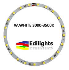 MODULO A CERCHIO 21 LED SMD 5050 RING 140MM/124MM 12V LUCE BIANCA 3000-3500K