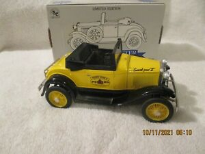 ERTL Pennzoil Model A car Coin Bank with box